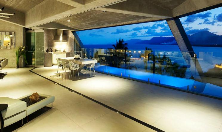 Interni Di Design Quasi Spaziale : Le case più belle del mondo la villa australiana che