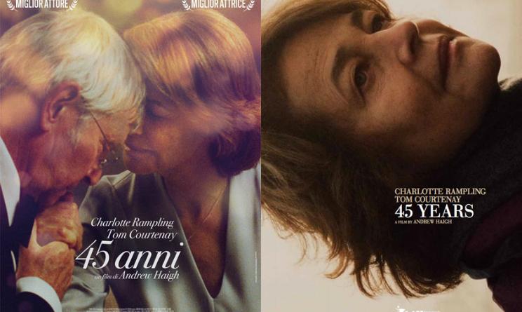Film in uscita novembre 2015, 45 anni trailer e trama