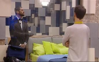 """Grande Fratello 14 esclusiva, Giovanni risponde a Luigi: """"Non può denunciarmi perchè è un gioco"""""""