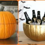 Halloween 2015 idee per festa, come creare il secchiello per il ghiaccio