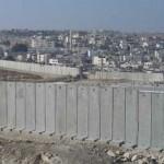 israele erige un nuovo muro