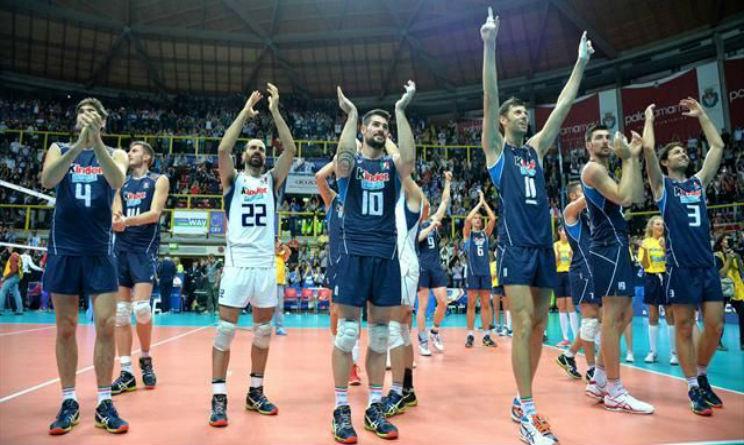 italia bulgari europei volley