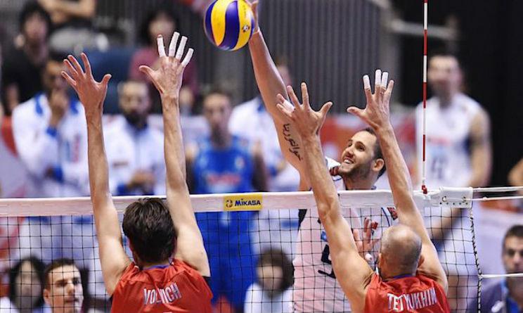 Italia Russia quarti di finale europei volley