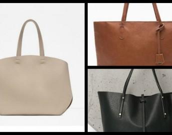 Tendenze moda 2015, 3 modelli di borsa shopper per l'autunno