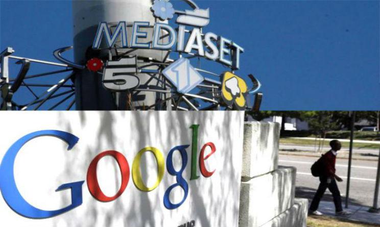 siglato storico accordo tra mediaset e google per contenuti su youtube