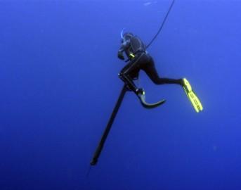 Apnea, a Ischia il primo Mondiale di immersioni