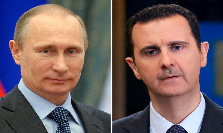 assad putin armi chimiche siria