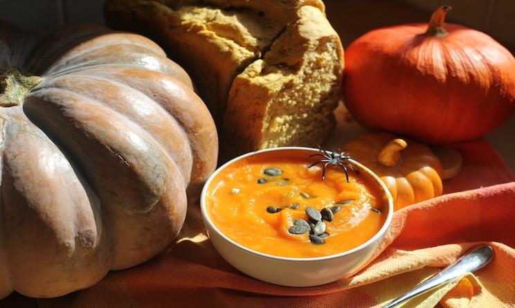 Ricette con la zucca vegetariane idee per halloween 2015 for Cucinare x cena