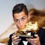 cristiano ronaldo vince la scarpa d'oro