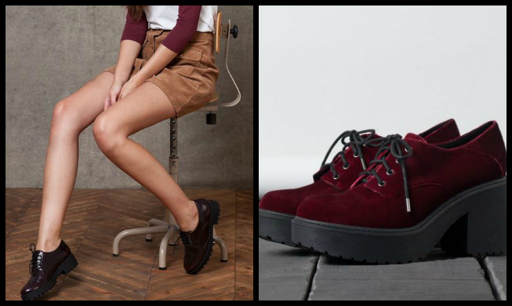 Tendenze moda autunno inverno 2015, come abbinare le scarpe blucher
