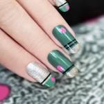 unghie autunno 2015, unghie a righe, unghie con smalto, unghie disegni,