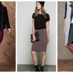 Tendenze moda autunno inverno 2015/2016, gonne a tubo, gonne a incrocio