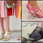 tendenze moda primavera estate 2016, le scarpe peggiori, milano moda 2015