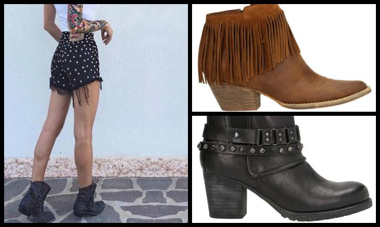 Tendenze moda autunno inverno 2015, stivale texano
