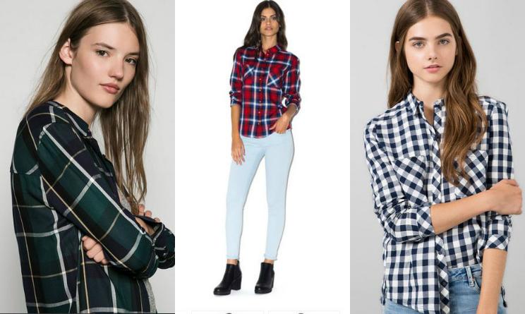 super popular fe73f 4ae0b Tendenze moda autunno 2015, la camicia scozzese: 3 modelli ...