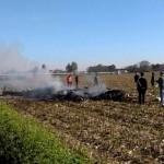 esploso in volo aereo militare