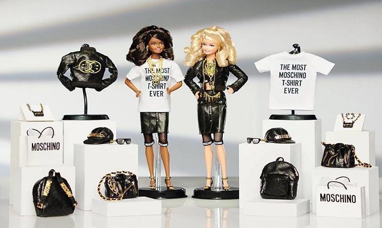 collezione moschino barbie, moschino barbie collection, magliette barbie moschino, moschino barbie t shirt,