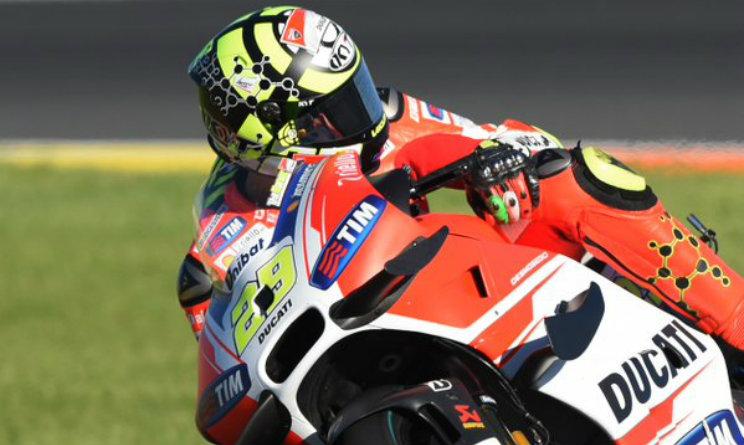 Iannone Ducati Barbera