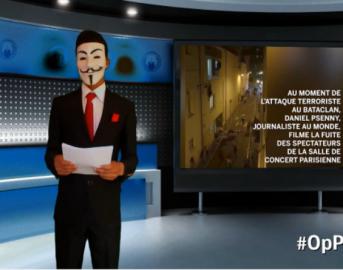 """Terrorismo, Anonymous: """"Sventato attacco Isis in Italia"""""""