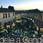 Candele a Candelara Ponte dell'Immacolata 2015