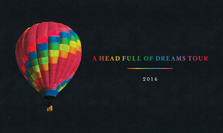coldplay tour 2016 nuovo album