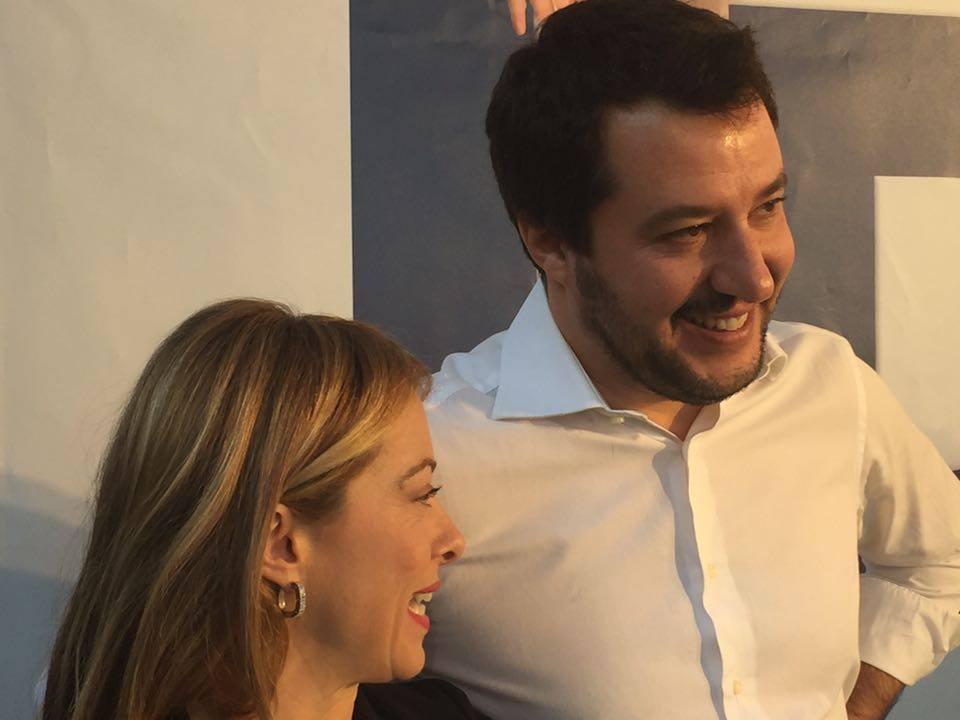 Matteo Salvini a Domenica Live