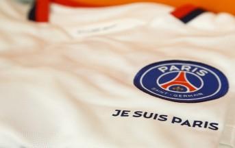 Champions League, PSG: niente sponsor, sulla maglia ci sarà 'Je Suis Paris'