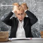 Insegnanti stress da lavoro