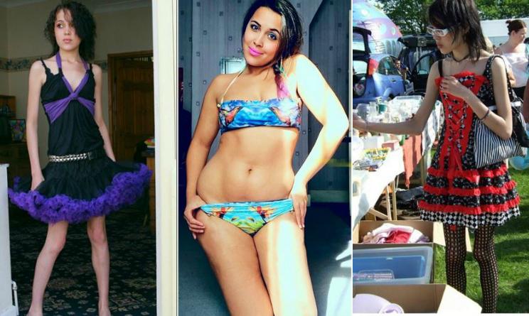 anoressica, curvy, cellulite