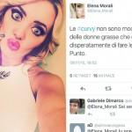Elena Morali, Elisa D'Ospina, curvy modelle, modelle grasse
