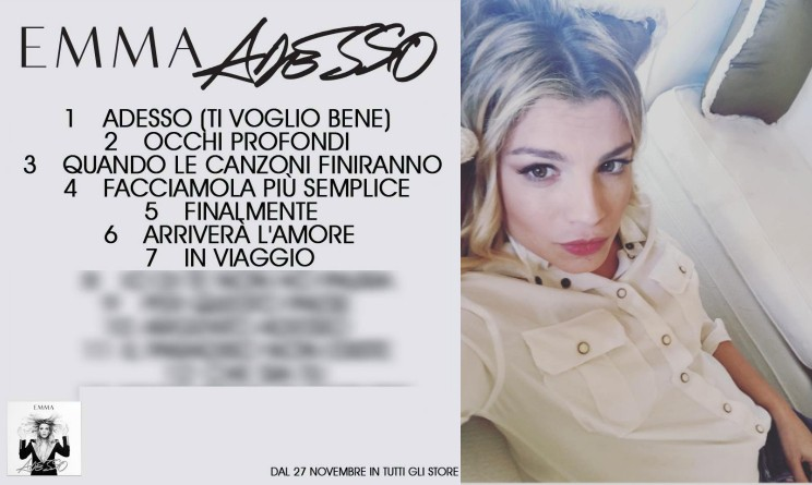 Emma Marrone album 2015, emma marrone Milano, emma marrone instore tour , emma marrone adesso