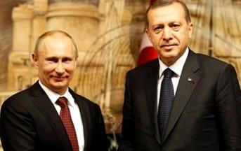 """Caccia russo abbattuto, Putin rifiuta colloquio con Erdogan: """"Prima le scuse"""""""