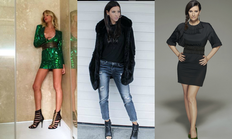 Look da Vip inverno 2015, outfit inverno 2015, Alessia Marcuzzi look, Laura Pausini look
