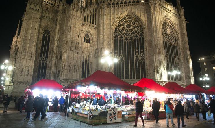 bancarelle natalizie Milano Obej Obej e Duomo