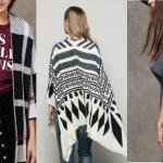 Tendenze moda inverno 2015/2016 , poncho modelli più belli