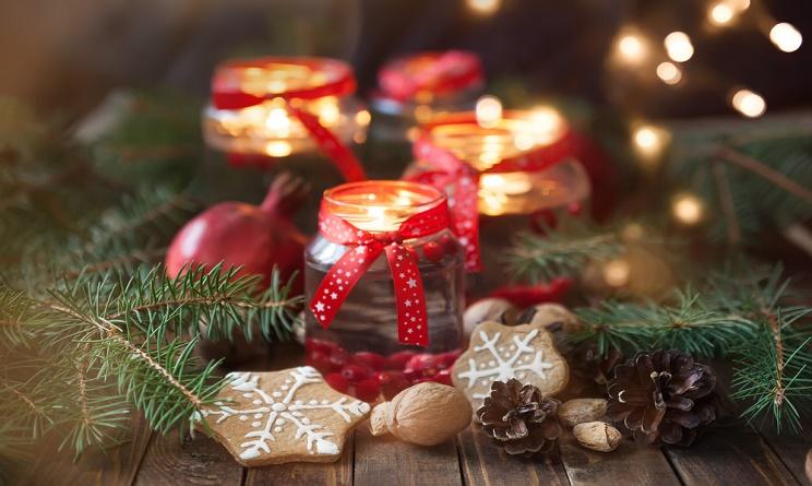 Natale 2015 addobbi casa decorazioni fai da te con i for Addobbi casa fai da te