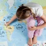 viaggiare con bambini aereo auto
