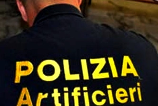Allarme Bomba artificieri