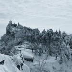 Castelli d'inverno in Italia