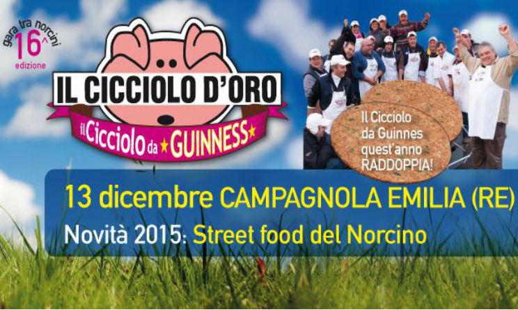 cicciolata sagra Campagnola Emilia 2015