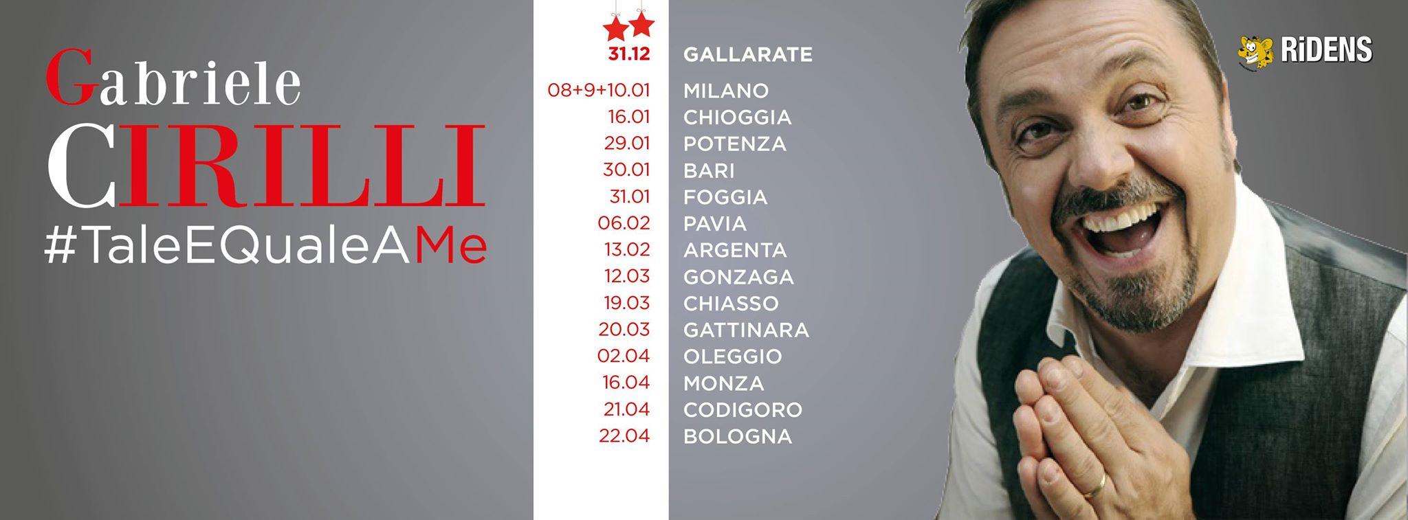 Gabriele Cirilli Tale e Quale a me