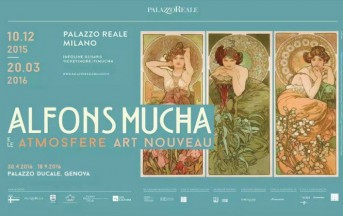 Mostre Milano Dicembre 2015, Alfons Mucha: atmosfere liberty a Palazzo Reale