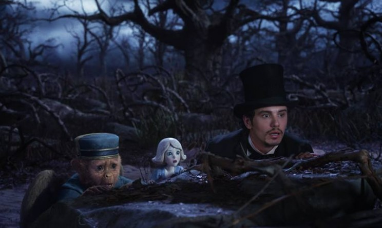 Oz The Great and Powerful facebook