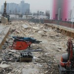 Expo 2015 cantieri per lo smantellamento