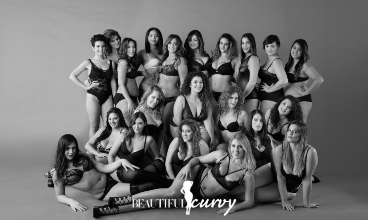 calendario curvy 2016, modelle curvy, curvy model, modelle taglie forti, modelle oversize,