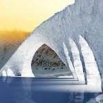 ponte di ghiaccio più grande del mondo