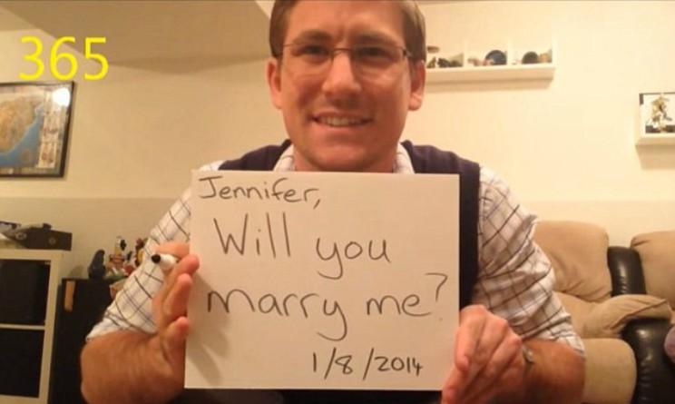 Proposta di matrimonio 2015