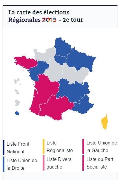 risultati elezioni regionali francia 2015