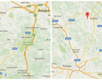 Terremoto oggi a Perugia e Bologna: scosse magnitudo 2.1