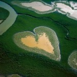 7 paesaggi meravigliosi a forma di cuore